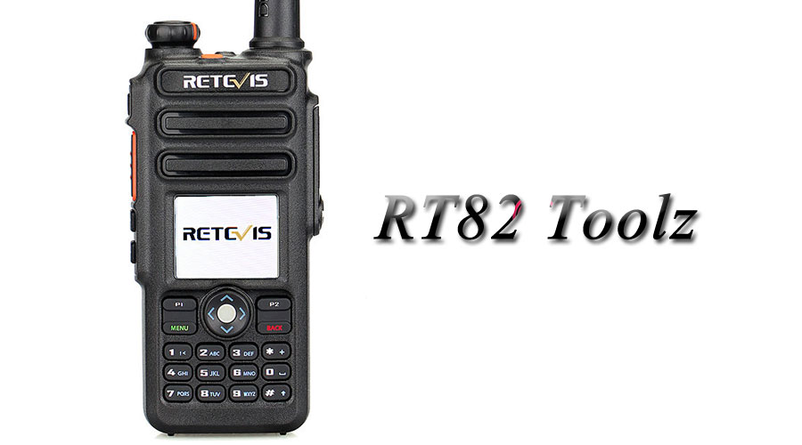 Retevis Alternative RT82 Firmware -RT82 Toolz