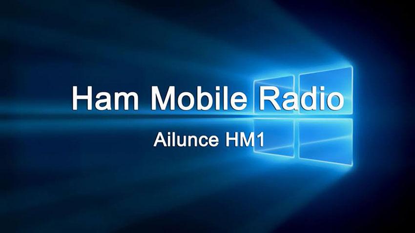 Ailunce Mobile Radio HM1