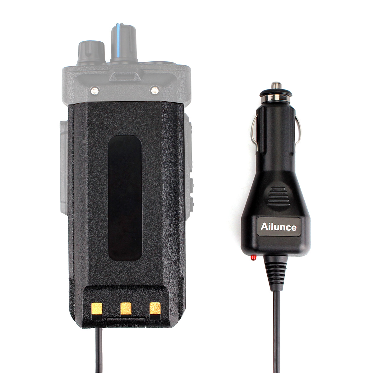 Car Charger Battery Eliminator 12-24V for Ailunce HD1 DMR Two-Way Radio US Ship