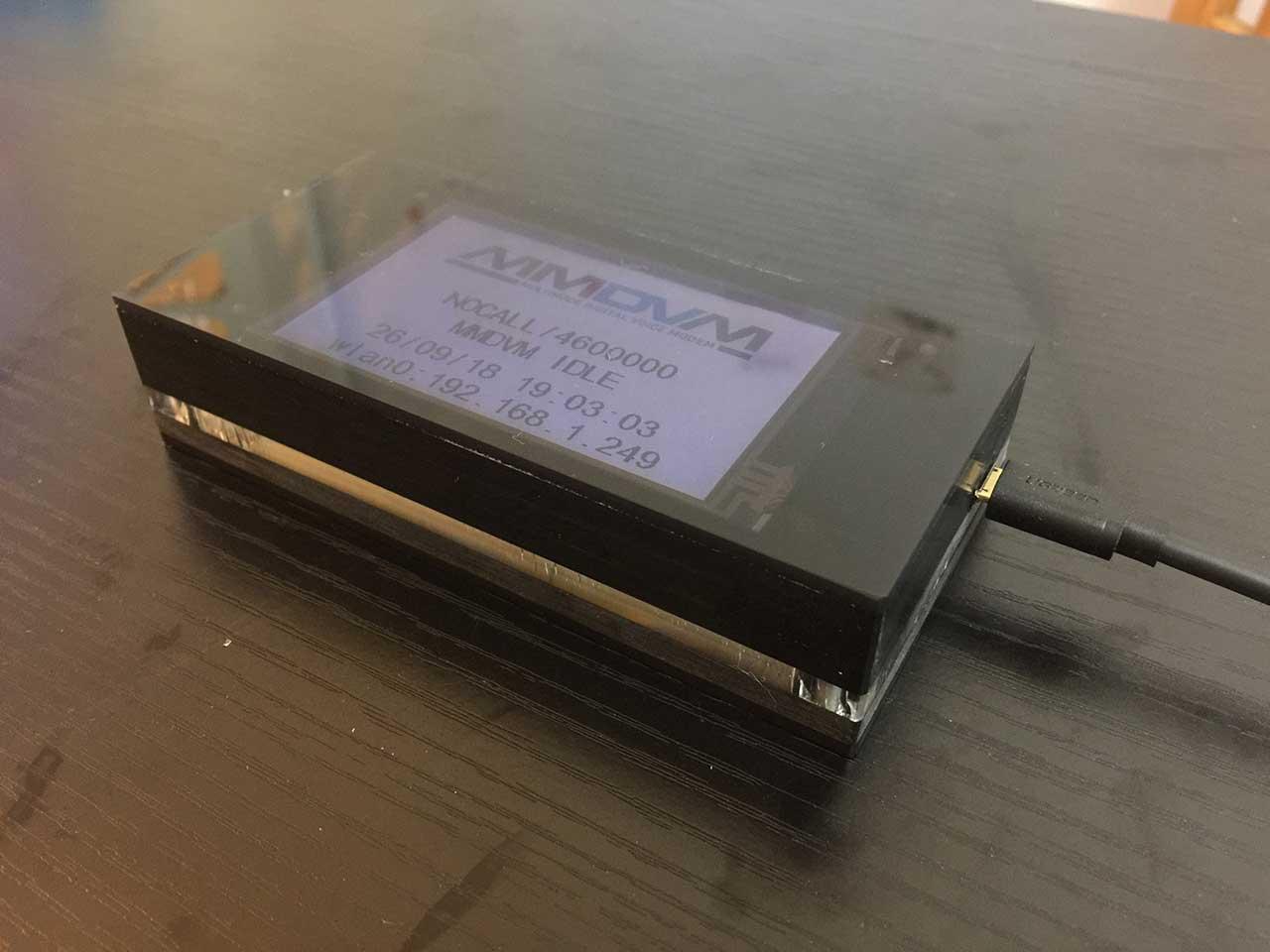 Assembled MMDVM Hotspot Support P25 DMR YSF Raspberry Pi Full LCD