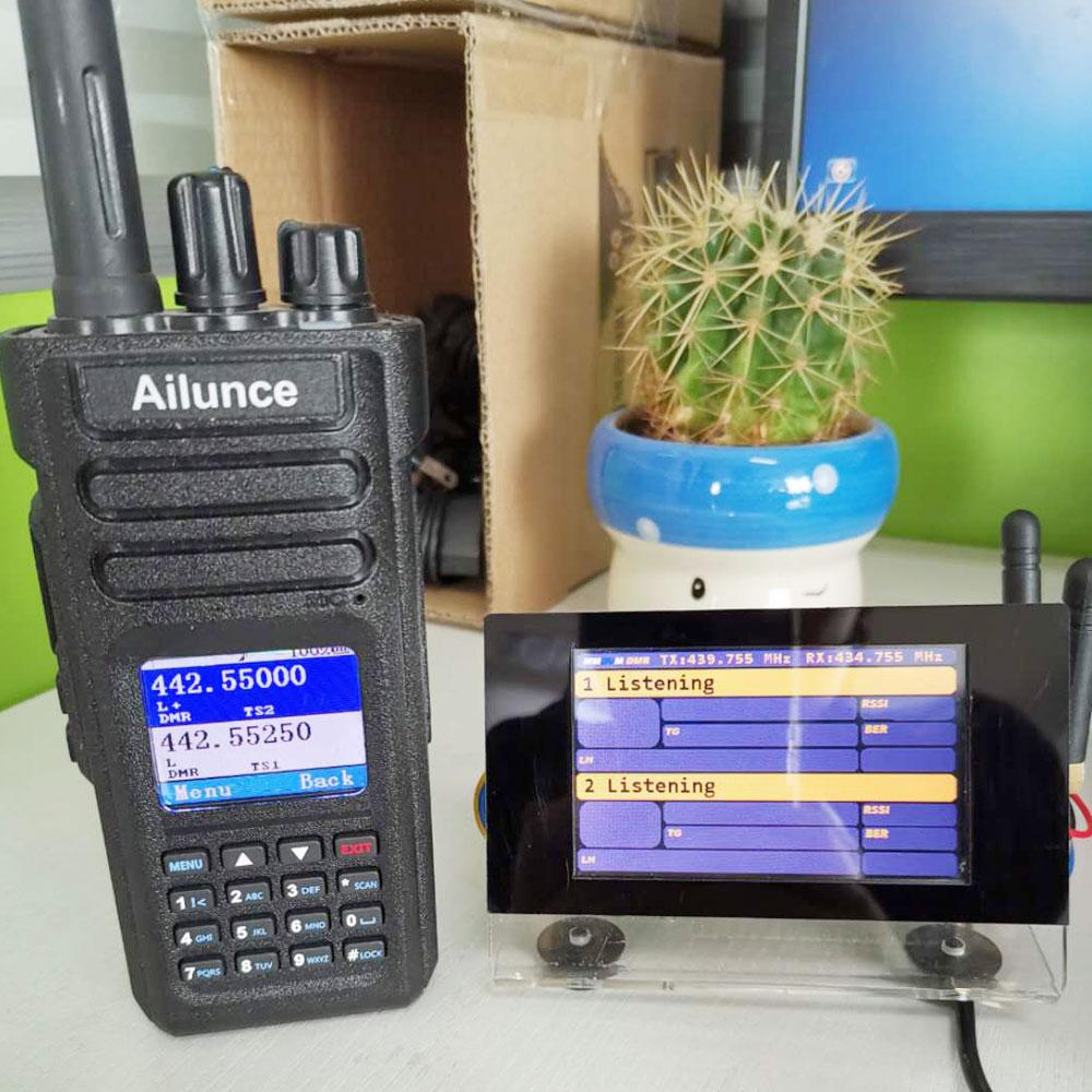 Bundled Ailunce HD1 GPS DMR Radio and MMDVM Hotspot Ailunce