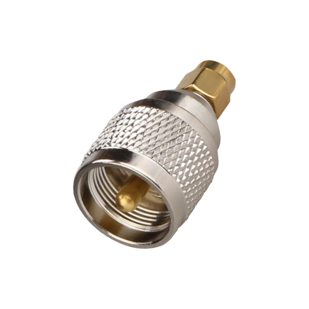 UHF Male to SMA Male Adapter