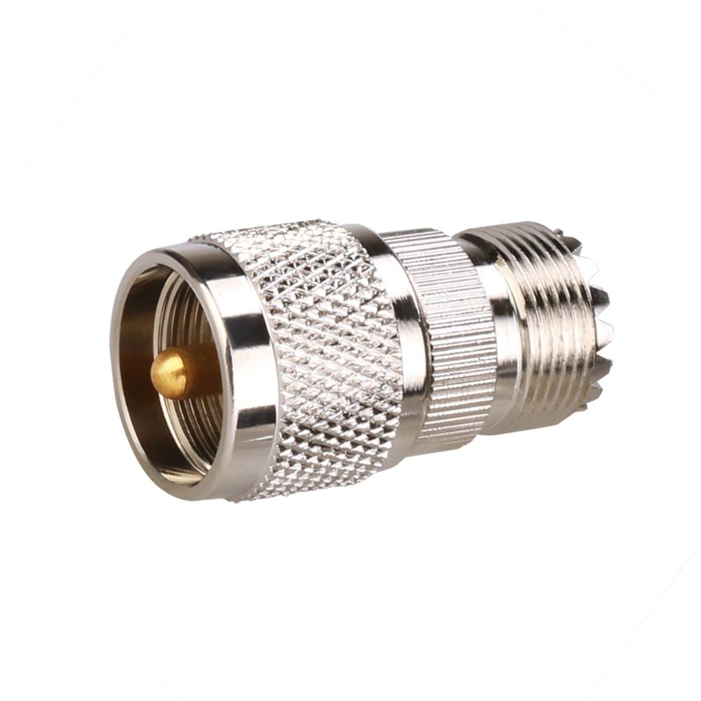 UHF Male to UHF Female Adapter