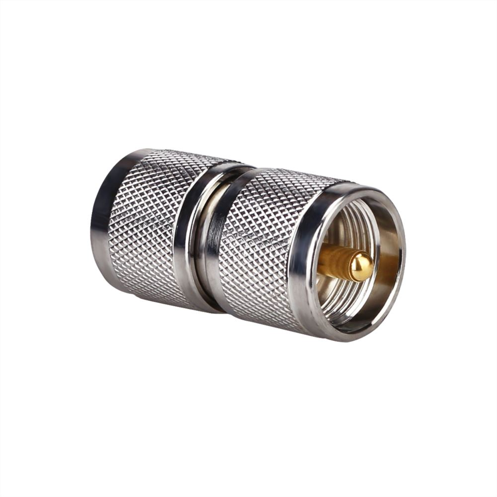 UHF Male to UHF Male Adapter