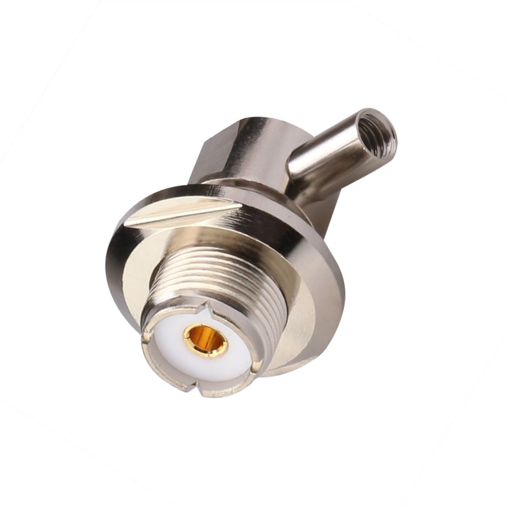 UHF Female Right Angle Twist ON For 3D Coaxial Cable