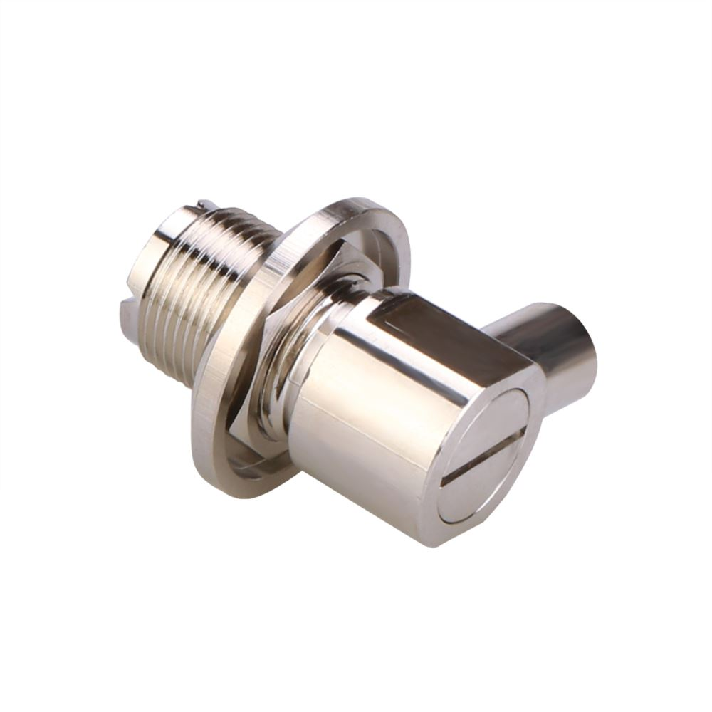 UHF Female Right Angle Twist ON For 5D Coaxial Cable