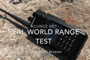 Ailunce HD1 Real World Range Test By hamradioreviews doloremque