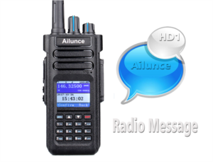 Text messaging on two way radios doloremque