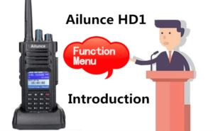 How to set function menu of your HD1 doloremque