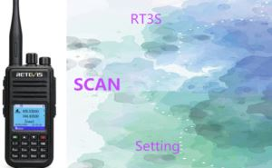How to set Retevis RT3S scan doloremque