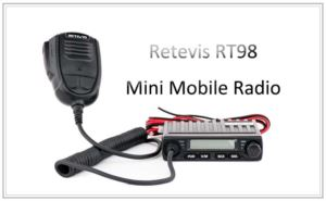 Mini Mobile Ham radio 15W amateur radio transceiver RT98 doloremque