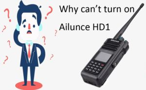 How to do when Ailunce HD1 can't turn on doloremque