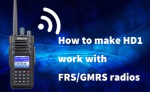 How to make HD1 work with FRS/GMRS radios doloremque