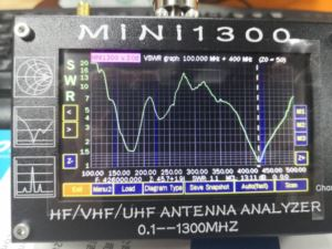 MiNi 1300 Touch Screen Antenna Analyter  doloremque