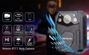 Retevis RT77 Body Worn Camera with Night Vision doloremque