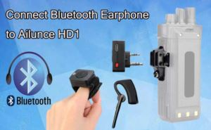 How to connect a Bluetooth Earphone to Ailunce HD1  doloremque