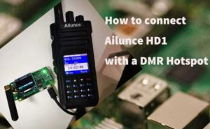 How to connect Ailunce HD1 to a DMR Hotspot doloremque