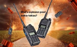 What's explosion-proof walkie-talkies? doloremque