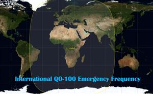 Official International QO-100 Emergency Frequency doloremque
