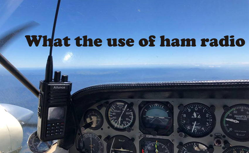 What are the uses of a ham radio?