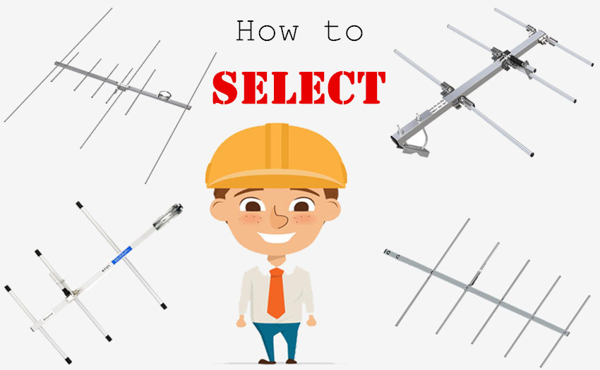How to select the suitable type of Ailunce yagi antenna?