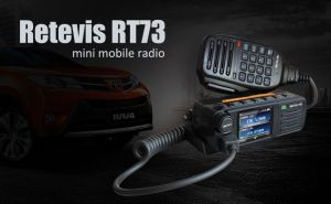 Retevis RT73 Dual Band Digital/Analog 20W Mini Mobile Radio is coming  doloremque