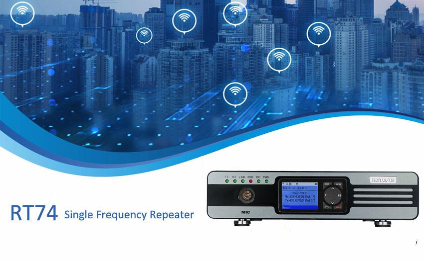 Se acerca el primer repetidor de frecuencia única de Retevis.