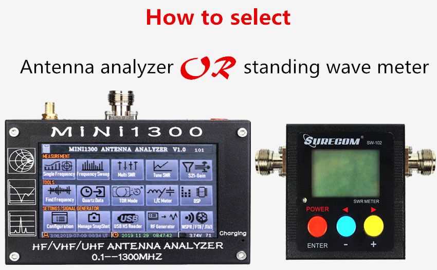 Do you need antenna analyzer or Standing wave meter
