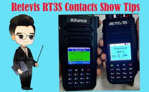 Tips for the contacts display of Retevis RT3S doloremque