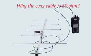 Why the Coax is 50 ohms? doloremque