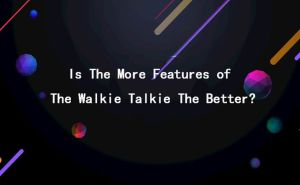 Is The More Features of The Walkie Talkie The Better? doloremque