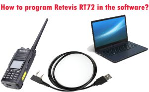 How to program Retevis RT72 in the software? doloremque