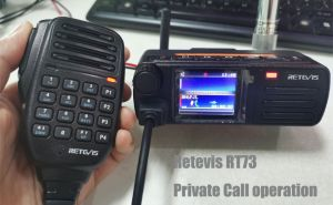 How to Make Private Call on Retevis RT73  doloremque