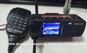 How to setup a Temporary Talkgroup on Retevis RT73 doloremque