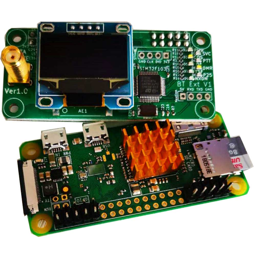 MMDVM/Pi-star Simplex Hotspot and Ailunce HD1 Ailunce
