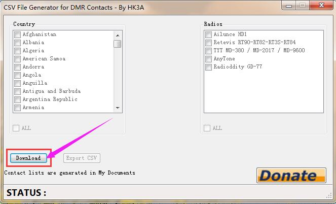 How to Use the CSV File Generator for DMR Contacts Ailunce