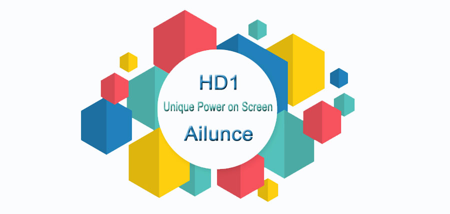 Make a Unique Power On Screen Logo for Ailunce HD1 Ailunce