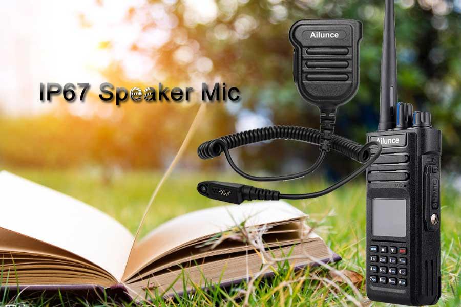 Ailunce HD1 IP67 Original Speaker Mic H103M Ailunce