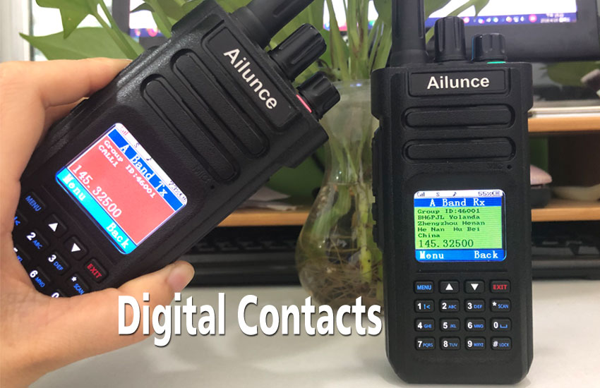 Where Can I Download the DMR Contacts? Ailunce