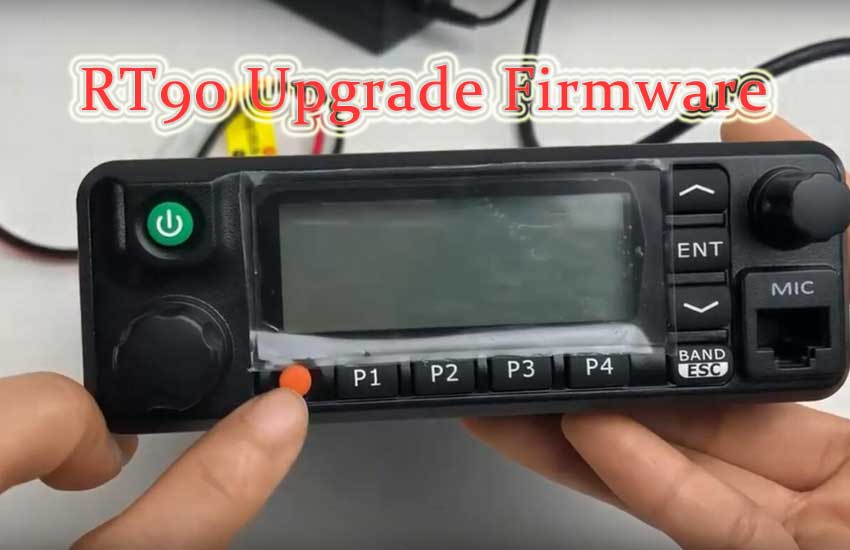 How to Upgrade Retevis RT90 Firmware Ailunce