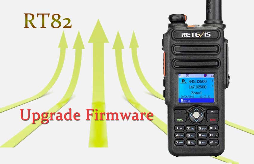 How to Upgrade Retevis RT82 Firmware Ailunce