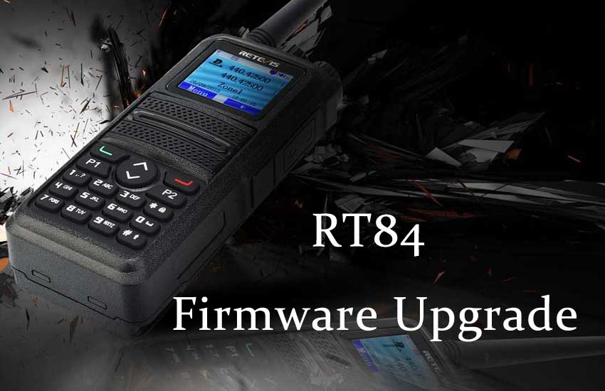 How to Upgrade Retevis RT84 Firmware Ailunce