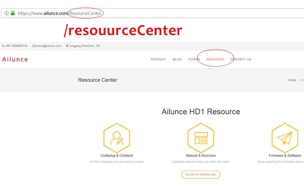 What you can get from Ailunce website Resource Center Ailunce