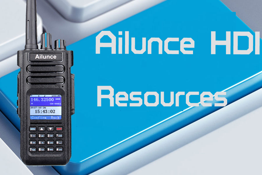 Resources of Ailunce HD1 Ailunce