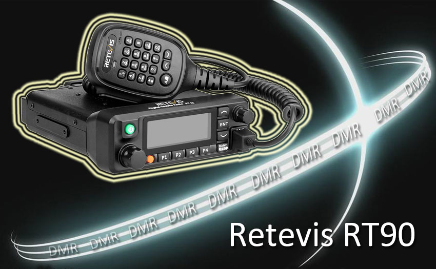 Retevis RT90 Dual Band DMR Mobile Radio Review by M6CEB Ailunce