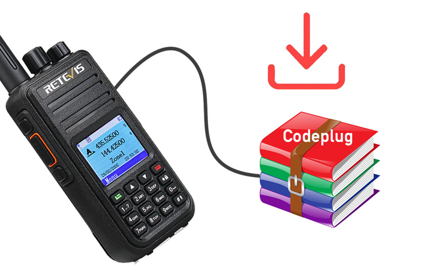 How to reset the radio to factory with codeplug Ailunce