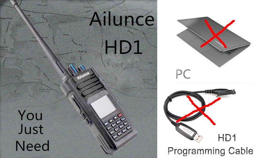 Why You Choose Ailunce HD1 as Your amateur Radio Ailunce