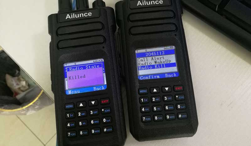 Ailunce HD1 remote kill and wake up function Ailunce
